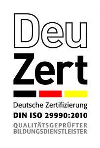 DeuZert ISO-Siegel